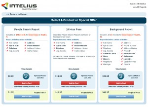 Intelius Background Check