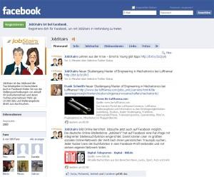 Jobstairs bei Facebook