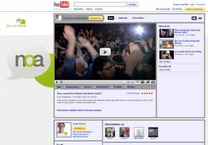 Noa Bank auf YouTube