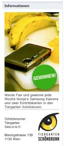 Samsung-Werbträger: Orang-Utan