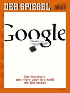 Google im Spiegel - kein positiver Bericht